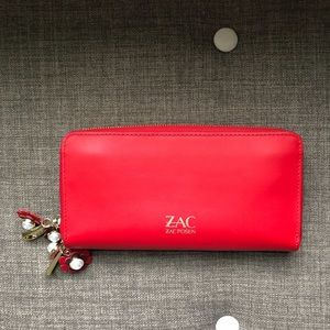 NWOT ZAC POSEN Vegan Clutch Wallet - Holds iPhone!